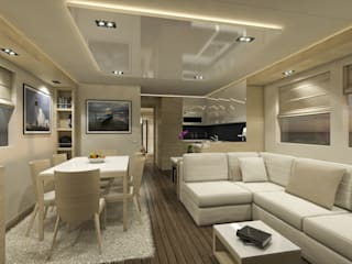 Modern Yachts and Jets by Studio Foschi & Nolletti Modern