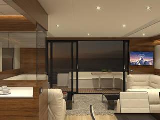 Zona giorno: Yacht & Jet in stile in stile Moderno di Studio Foschi & Nolletti