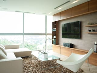 Modern living room by VODO Arquitectos Modern