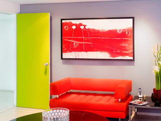 . Salas de estilo moderno de Belhogar Diseños, C.A. Moderno