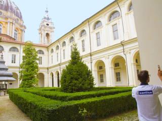 Ripristino chiostro interno della Basilica di Superga:  in stile  di Santise Edilizia