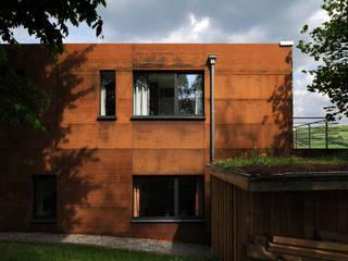 Eklektyczne domy od Luc Spits Architecture Eklektyczny