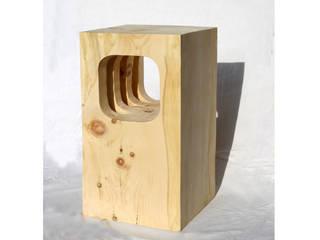 Objekte aus massivem Zirbenbloch:   von Architekt DI Felix Berkmann
