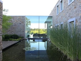 Luc Spits Architecture Garden Swim baths & ponds