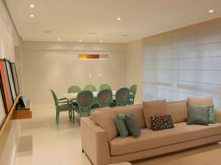 ANALU ANDRADE - ARQUITETURA E DESIGN Modern dining room