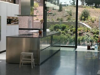 Luc Spits Architecture Modern kitchen