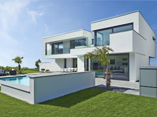 Modern houses by LEE+MIR Modern
