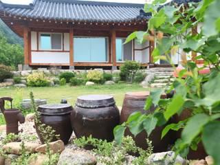 홍천 한옥 리모델링 아시아스타일 주택 by Apple Style 한옥