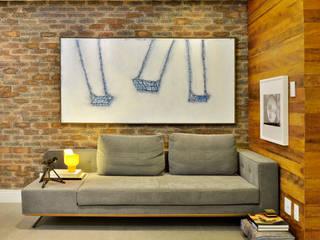 DO ALTO DA PARALELA Salas de estar modernas por Edílson Campelo Arquitetura Moderno