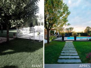 Garden by E/P ESPACE DESIGN - Emilie Peyrille, Modern