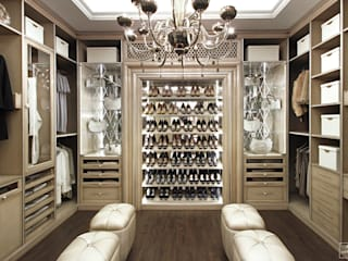 Гардеробные комнаты. Дизайн-бюро Сергея Саргина Гардеробная в стиле модерн