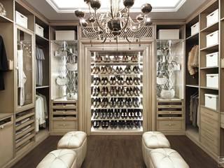 Дизайн-бюро Сергея Саргина Modern dressing room