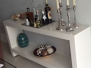 ANALU ANDRADE - ARQUITETURA E DESIGN Living roomAccessories & decoration