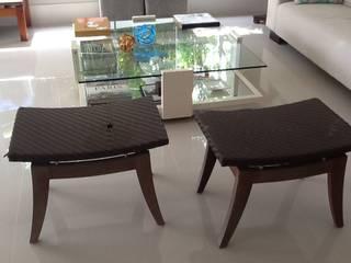 ANALU ANDRADE - ARQUITETURA E DESIGN ВітальняТабурети та стільці