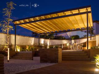 Jardín de noche Jardines de estilo minimalista de Región 4 Arquitectura Minimalista