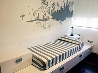 Dormitorio Beach de Alábega Moderno