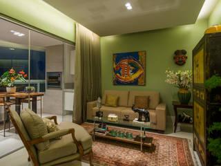 Apartamento Santo Agostinho Salas de estar modernas por Melina Mundim | Design de Interiores Moderno