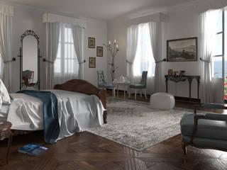 Villa privata :  in stile  di PLASTICO.design