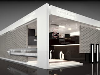 ศูนย์นิทรรศการ โดย PLASTICO.design, โมเดิร์น