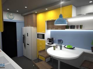 Cuisine: Cuisine de style de style Moderne par iD linea
