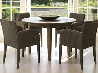 Lloyd Loom Furniture Viva Lagoon Ltd Dining roomChairs & benches Natural Fibre Brown