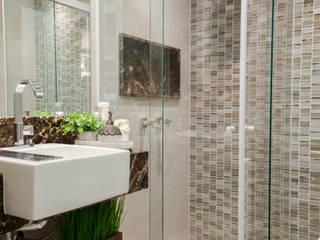 Estúdio HL - Arquitetura e Interiores Modern bathroom