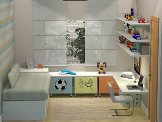 PROJETO 3D Claudia Fonseca Designer de Interiores Quartos modernos