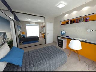 SQ2 Quartos modernos por Nankyn Arquitetura & Consultoria Moderno