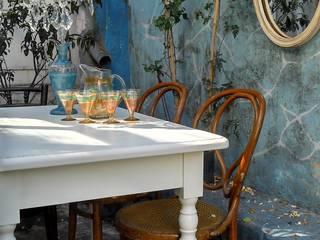 MESAS ANTIGUAS INTERVENIDAS de Muebles eran los de antes - Buenos Aires Clásico