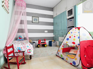 Apartment Remodel Modern nursery/kids room by Aegam Modern
