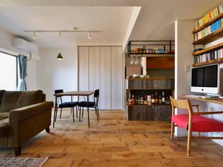 好きなものに囲まれて暮らせる家: 株式会社スタイル工房が手掛けたです。