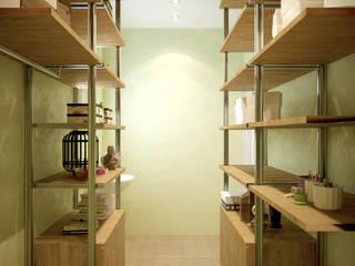 Moderne Ankleidezimmer von Студия интерьерного дизайна happy.design Modern