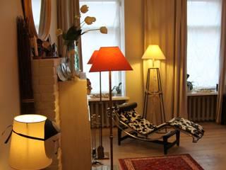 квартира холостяка Коридор, прихожая и лестница в эклектичном стиле от Circus28_interior Эклектичный