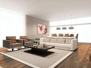 ATELIER OPEN ® - Arquitetura e Engenharia Moderne Wohnzimmer