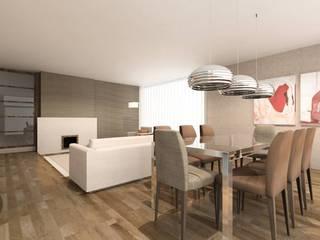 ATELIER OPEN ® - Arquitetura e Engenharia Moderne Esszimmer