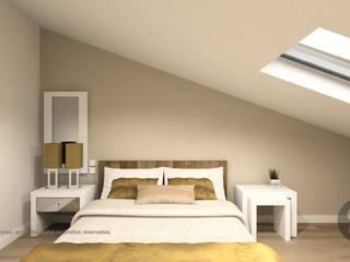 ATELIER OPEN ® - Arquitetura e Engenharia Moderne Schlafzimmer