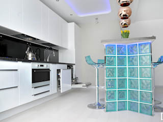 Hunter design Kitchen Glass Turquoise
