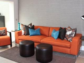 Upholstery :  Living room by FALCHI INTERIORS LTD