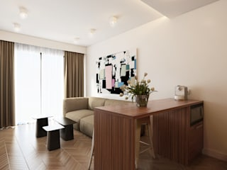 Salas / recibidores de estilo  por José Tiago Rosa, Minimalista