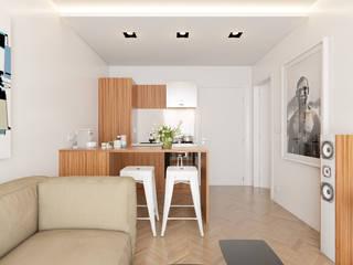 Cucina minimalista di José Tiago Rosa Minimalista