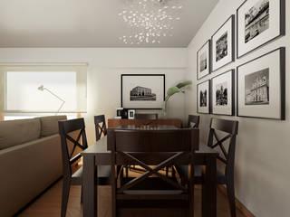 Minimalist dining room by José Tiago Rosa Minimalist