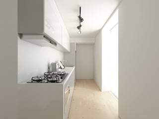 Kitchen by José Tiago Rosa, Minimalist