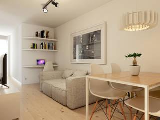 Salas de estilo minimalista por José Tiago Rosa