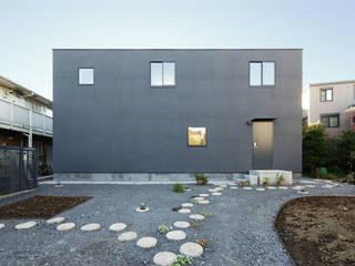KMA しかくい空 モダンな 家 の 板元英雄建築設計事務所 モダン