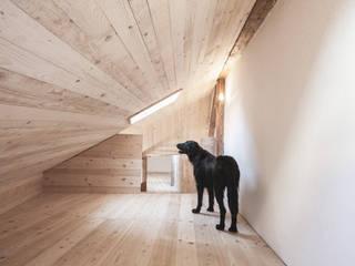 Arbeitszimmer: minimalistische Arbeitszimmer von Studio für Architektur Bernd Vordermeier