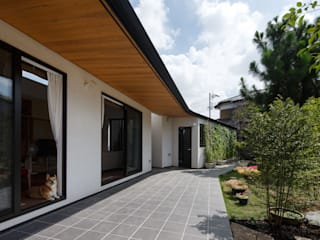 Skandynawskie domy od アトリエグローカル一級建築士事務所 Skandynawski