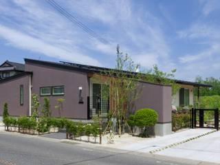 Casas de estilo  por アトリエグローカル一級建築士事務所