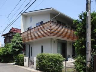 アトリエグローカル一級建築士事務所 Casas de estilo rural