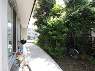 Jardines de estilo  por アトリエグローカル一級建築士事務所