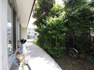 Wiejski ogród od アトリエグローカル一級建築士事務所 Wiejski